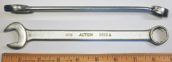 [Action 2022A 11/16 Combination Wrench]