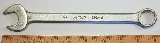 [Action 2024A 3/4 Combination Wrench]