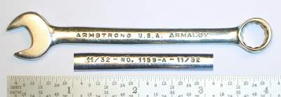 [Armstrong Armaloy 1159-A 11/32 Combination Wrench]