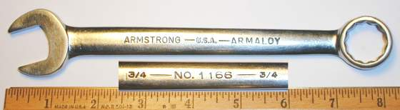 [Armstrong Armaloy 1166 3/4 Combination Wrench]