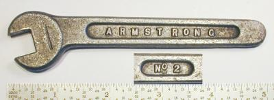[Armstrong No. 2 7/16 Toolpost Wrench]