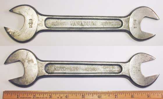 [Auto-Kit No. 200 15/16x1 Open-End Wrench]