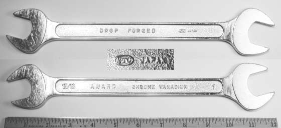 [Award 15/16x1 Open-End Wrench]