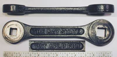 [Bay State 3/8x1/2 Ratcheting Box Wrench]