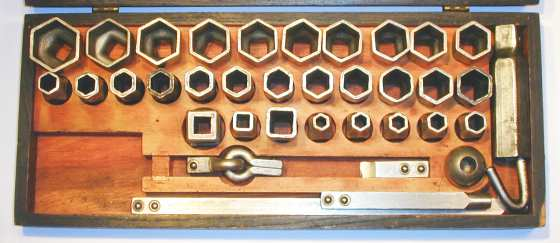 [Detail for Bay State Autokit No. 1 Socket Set]