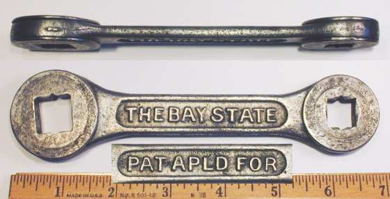 [Bay State 1/2x5/8 Ratcheting Box Wrench]