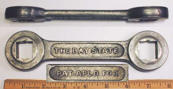 [Bay State 25/32x7/8 Ratcheting Box Wrench]