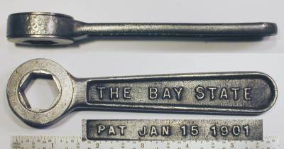 [Bay State 3/4 Hex Ratcheting Box Wrench]