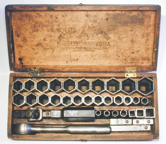 [Billings No. 31 Pressed-Steel Socket Set]