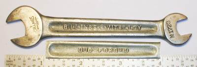 [Billings Vitalloy M-1723 3/8x7/16 Open-End Wrench]
