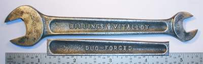 [Billings Vitalloy M-1723A 3/8x1/2 Open-End Wrench]