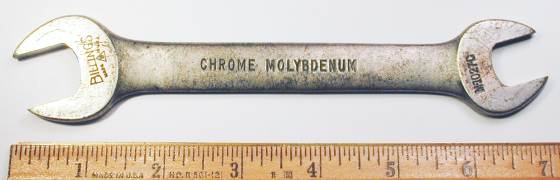 [Billings Chrome Molybdenum M-1027-C 9/16x11/16 Open-End Wrench]
