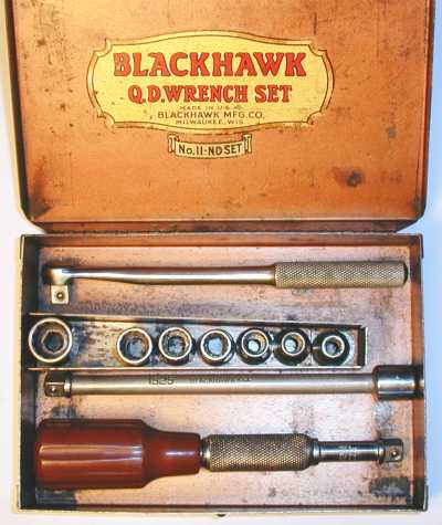 [Blackhawk No. 11-ND 1/4-Drive Q.D. Socket Set]