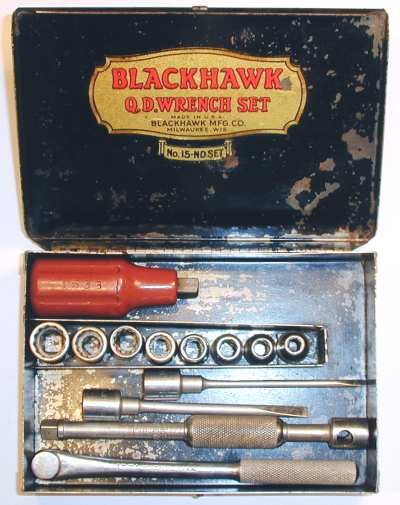 [Blackhawk No. 15-ND 1/4-Drive Q.D. Socket Set]