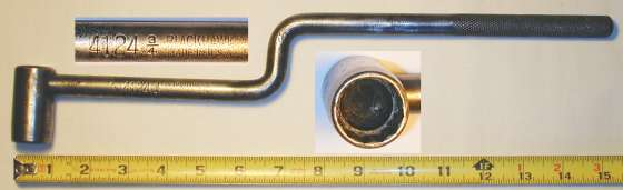 [Blackhawk 4124 3/4 Ford Main Bearing Socket Wrench]