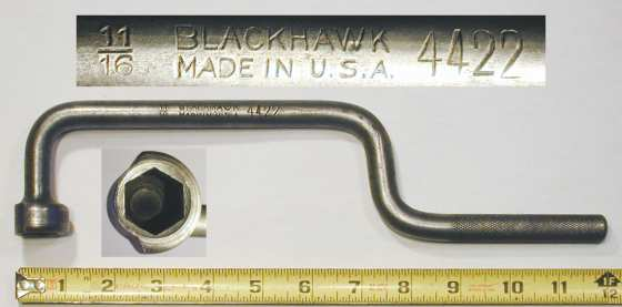 [Blackhawk 4422 11/16 Flywheel Socket Wrench]