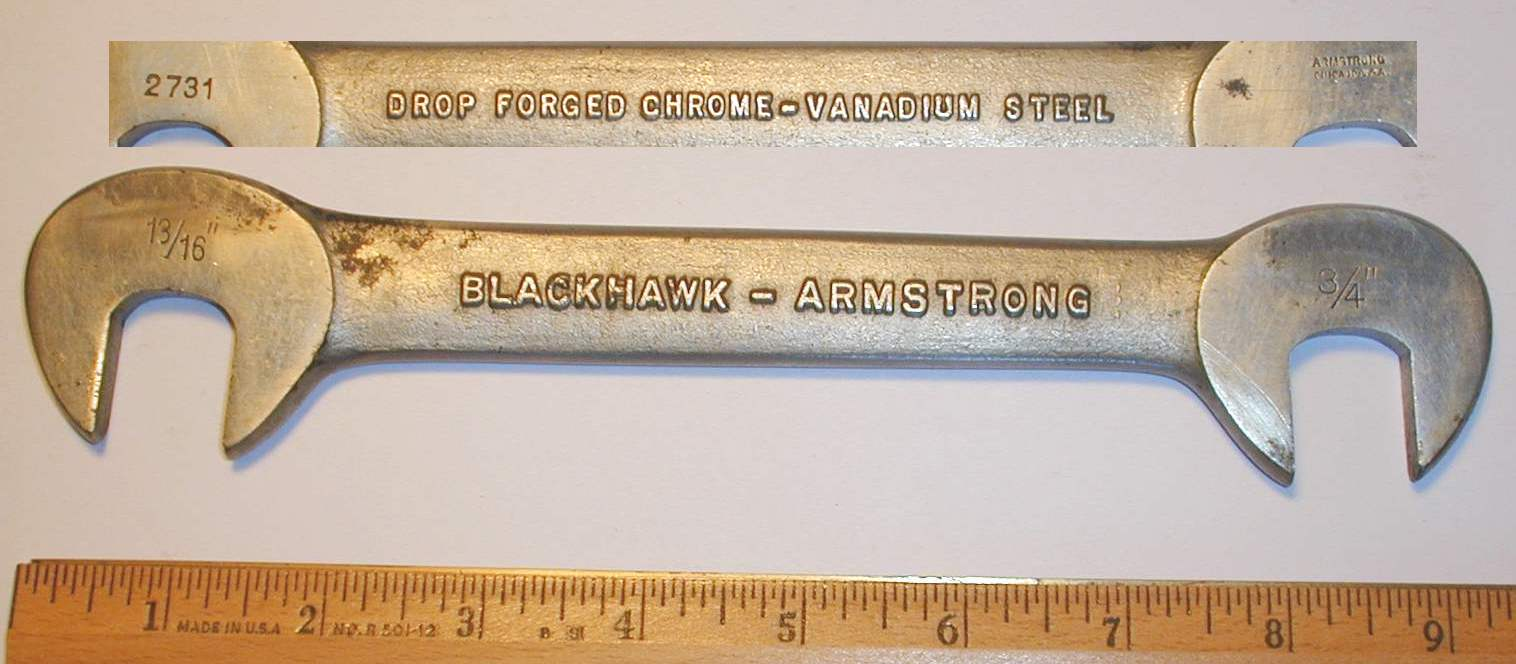 [Blackhawk-Armstrong 2731 3/4x13/16 Obstruction Wrench]