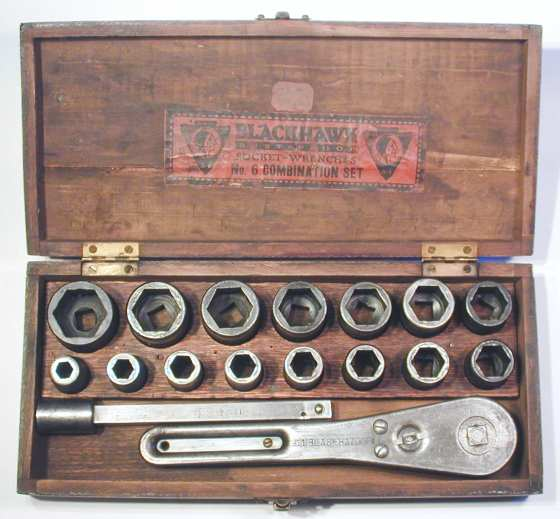 [Early Blackhawk No. 6 Socket Set]