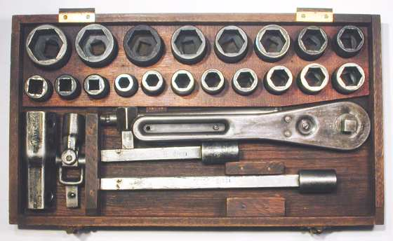 [Bottom Part of Early Blackhawk No. 8 Socket Set]