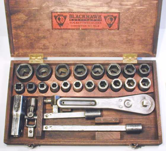 [Early Blackhawk No. 8 Socket Set]