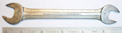 [Blue-Point Supreme S-1416 7/16x1/2 Open-End Wrench]