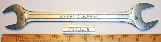 [Blue-Point Supreme S-2526 25/32x13/16 Open-End Wrench]