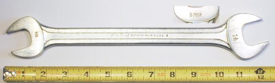 [Blue-Point Supreme S-2834 7/8x1-1/16 Open-End Wrench]