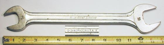 [Blue-Point Supreme S-3440 1-1/16x1-1/4 Open-End Wrench]