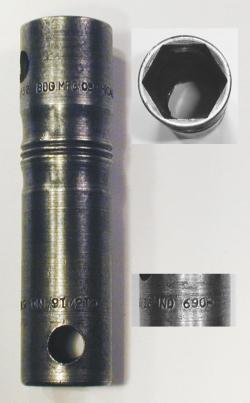 [Bog No. 690 31/32x1-5/32 Spark Plug Socket Wrench]