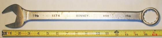 [Bonney 1174 1-5/16 Combination Wrench]