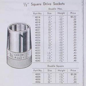 [Chrome Alloy Sockets from Brazil Tools Brochure]