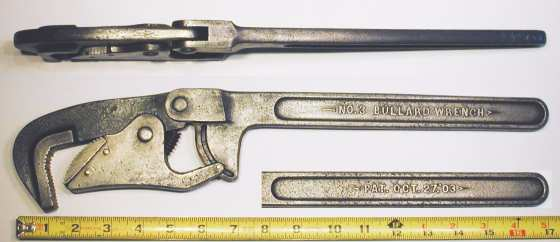 [Bullard No. 3 Self-Adjusting Pipe Wrench]