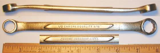 [ChromeXQuality 1/2x9/16 Box-End Wrench]