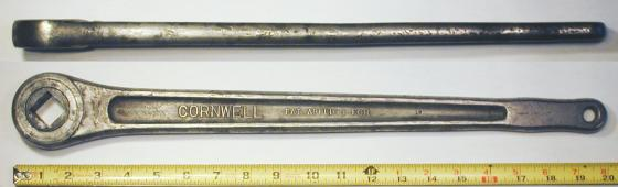 [Cornwell Early 7/8-Drive Gearless Ratchet]