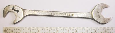 [Cornwell Early {AW}8 9/16x9/16 Angle-Head Wrench]