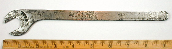 [Cornwell Early 5/8 Tappet Wrench]