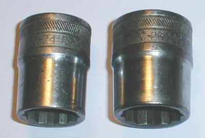 [Craftsman C-24 and C-26 1/2-Drive Double-Hex Sockets]