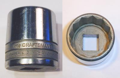 [Early Craftsman 3/4-Drive 1-1/2 Socket]