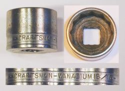 [Craftsman Vanadium 3/8-Drive 13/16 Socket]