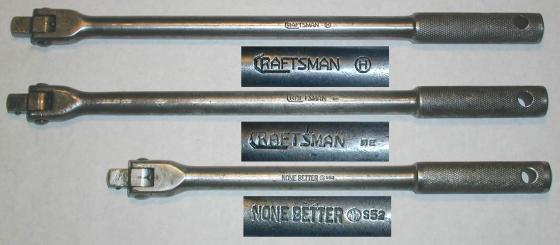 [Craftsman and None Better 1/2-Drive Flex-Head Handles]