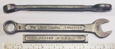 [Craftsman Vanadium AF 7/16 Combination Wrench]