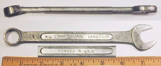 [Craftsman Vanadium AF 5/8 Combination Wrench]