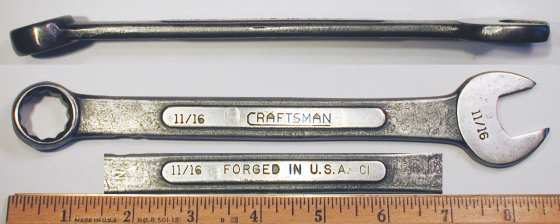 [Craftsman CI 11/16 Combination Wrench]