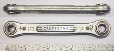 [Craftsman 1/4x5/16 Ratcheting Box Wrench]