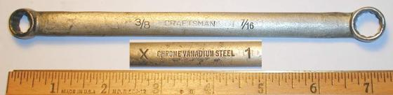 [Craftsman X1 3/8x7/16 Angled Box-End Wrench]