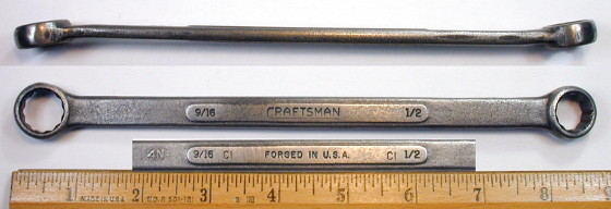 [Craftsman 1/2x9/16 Box-End Wrench]