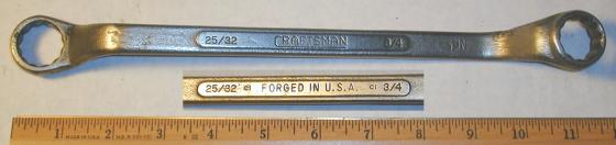 [Craftsman CI 3/4x25/32 Offset Box-End Wrench]