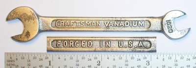 [Craftsman Vanadium 1020 1/4x5/16 Open-End Wrench]
