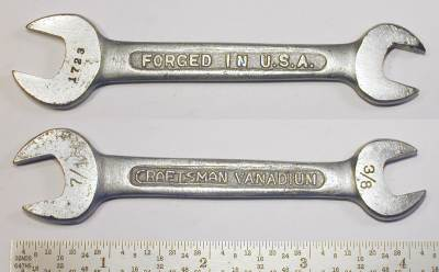 [Craftsman Vanadium 1723 3/8x7/16 Open-End Wrench]