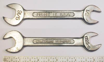 [Craftsman Vanadium 1725B 1/2x9/16 Open-End Wrench]